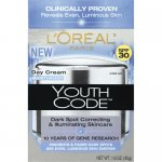 L'Oreal Paris Youth Code Dark Spot SPF 30 Day Cream Moisturizer,