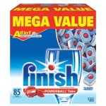 Finish Powerball Tabs Dishwasher Detergent, Fresh Scent, 85 ct