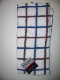 Trueliving Plaid Kitchen Towel 15 in x 25 in