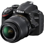 Nikon Black D3200 Digital SLR Camera with 24.2 Megapixels and 18