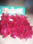 15 FT Shimmering Shapes Garland by Youngcraft Red