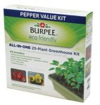 Burpee 25-Plant Eco-Friendly Greenhouse Pepper Kit